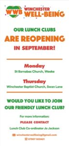 Winchester Wellbeing Lunch Club