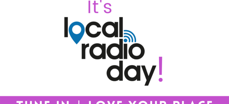 Local Radio Day interview with Maggie & DJ Oz, Friday 15th October 2021